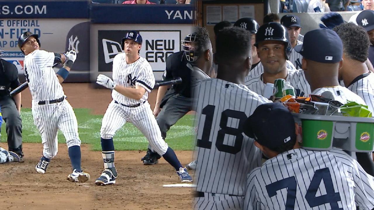 Yankees aún con el banderín en la mira tras victoria sobre Rays