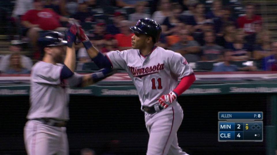 Polanco's two-run homer