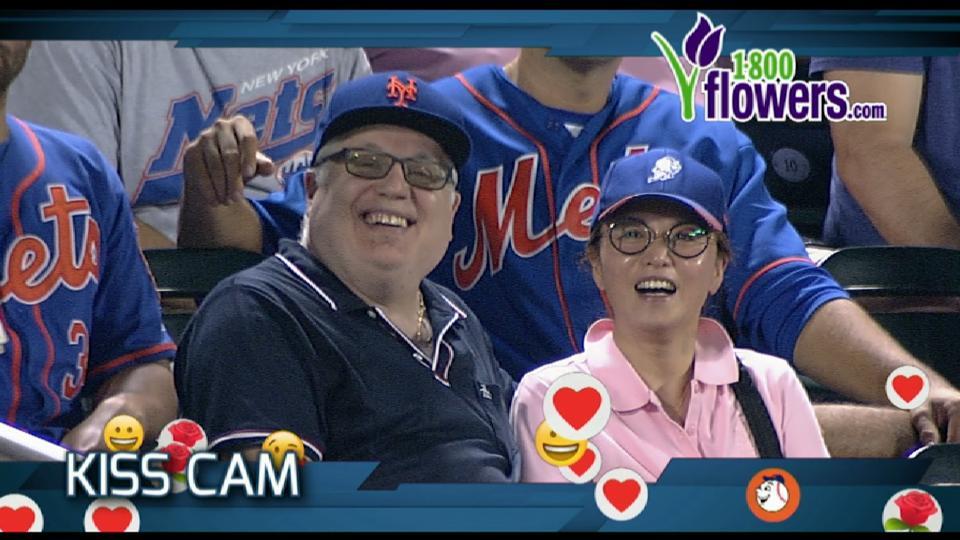 9/27/17: Mets Kiss Cam