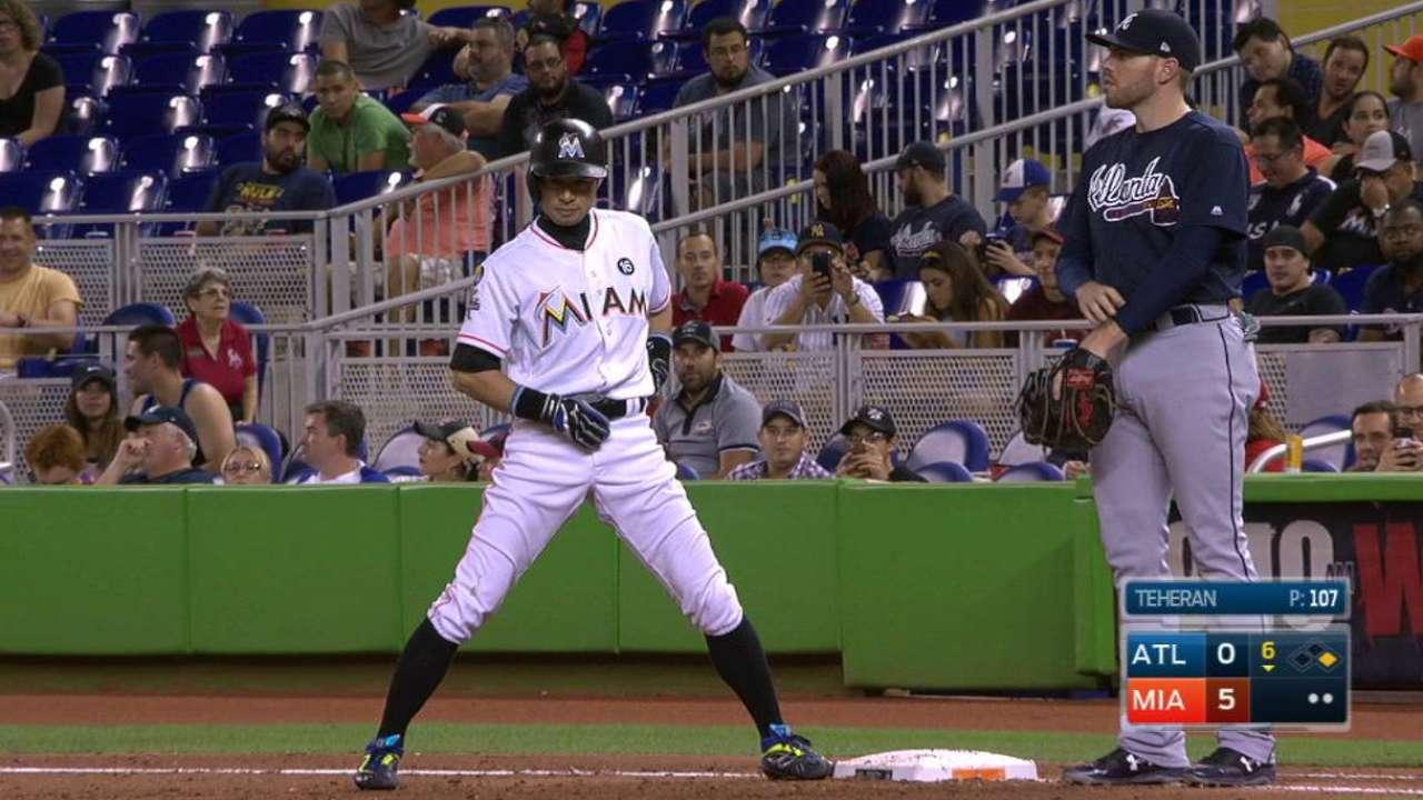 Marlins' Ichiro Suzuki nears pinch-hit record | MLB.com