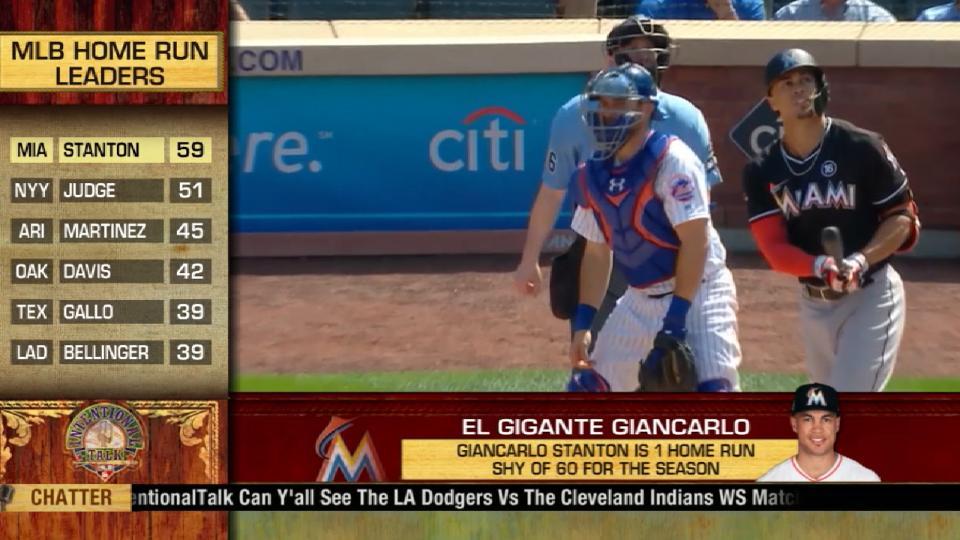 IT on Stanton's home run quest