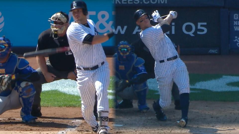 Young Yankees becoming new core