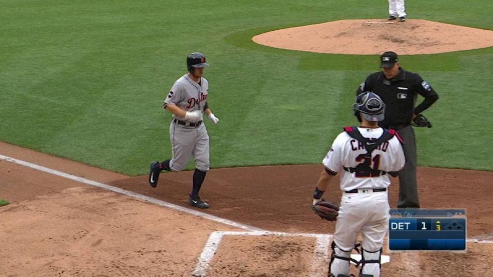 Presley's solo home run