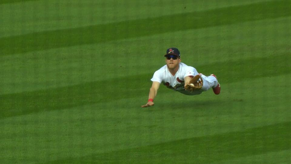 Bader's incredible diving catch
