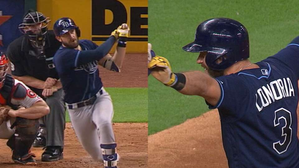 Must C: Longoria hits for cycle
