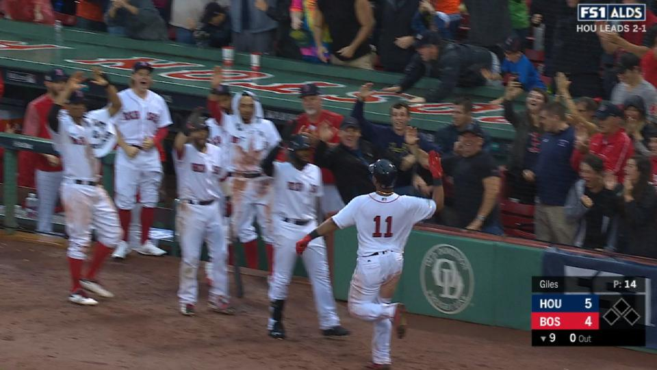 HR de pie de Devers