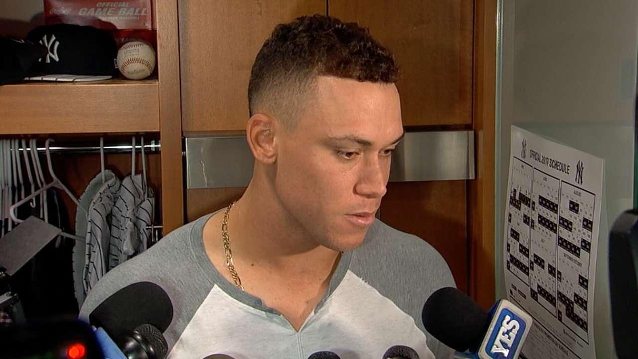 Yankees Aaron Judge Caps Big 2nd Vs Indians Mlb