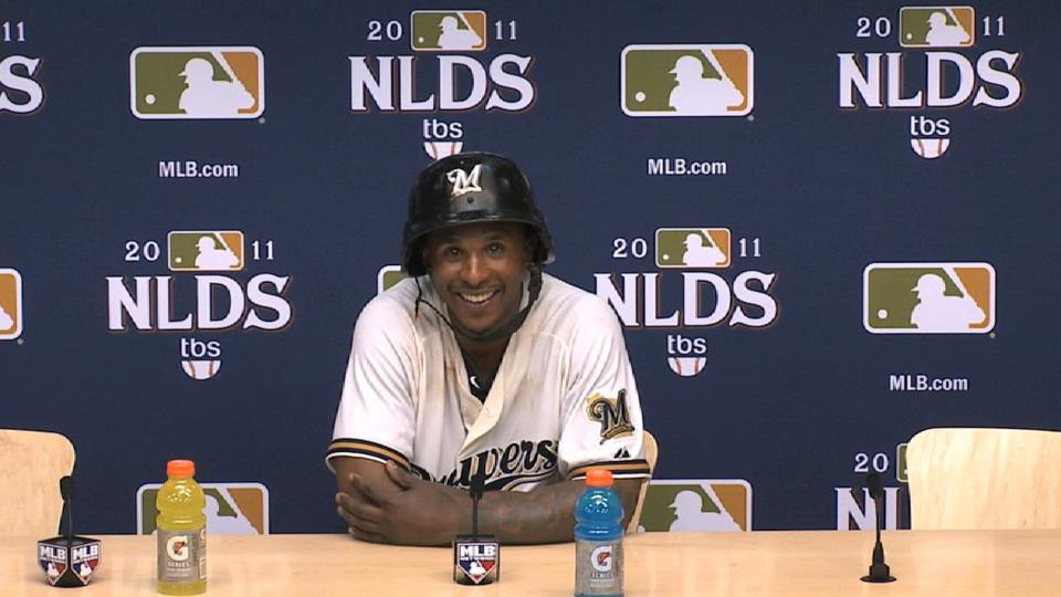 Morgan on series-winning hit