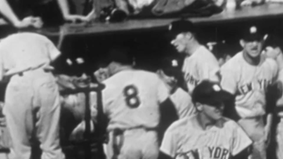 Berra homers in Game 7