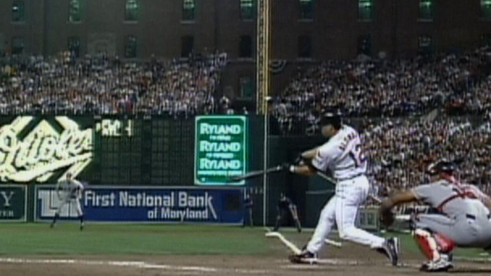 Alomar's two-run home run