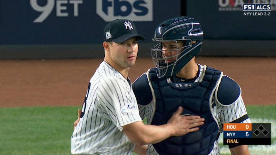 Yankees ganan el Juego 5