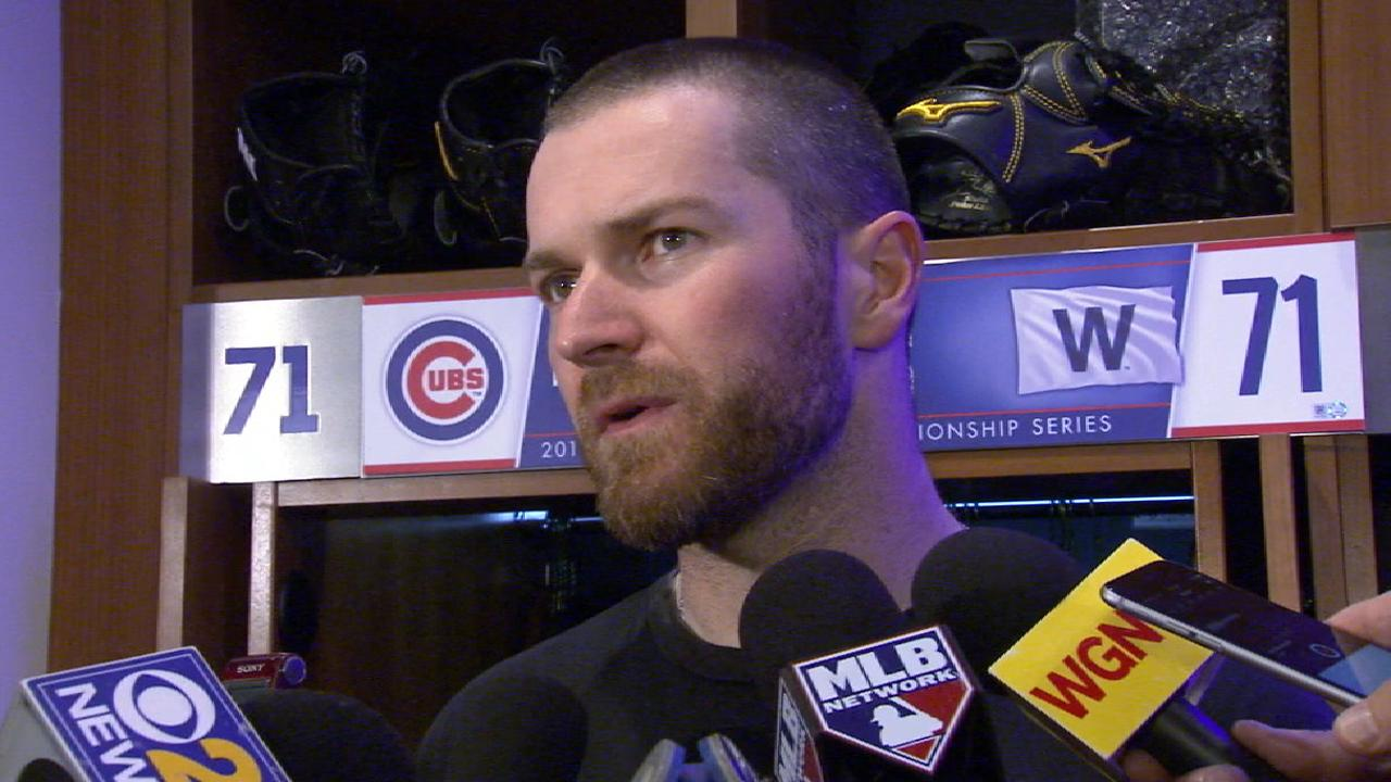 Davis on his six-out save