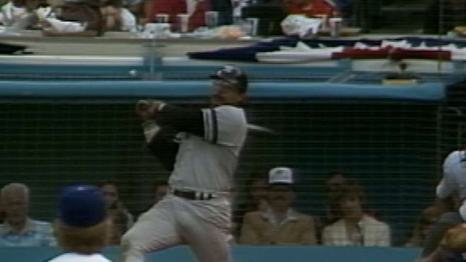 Reggie's solo home run