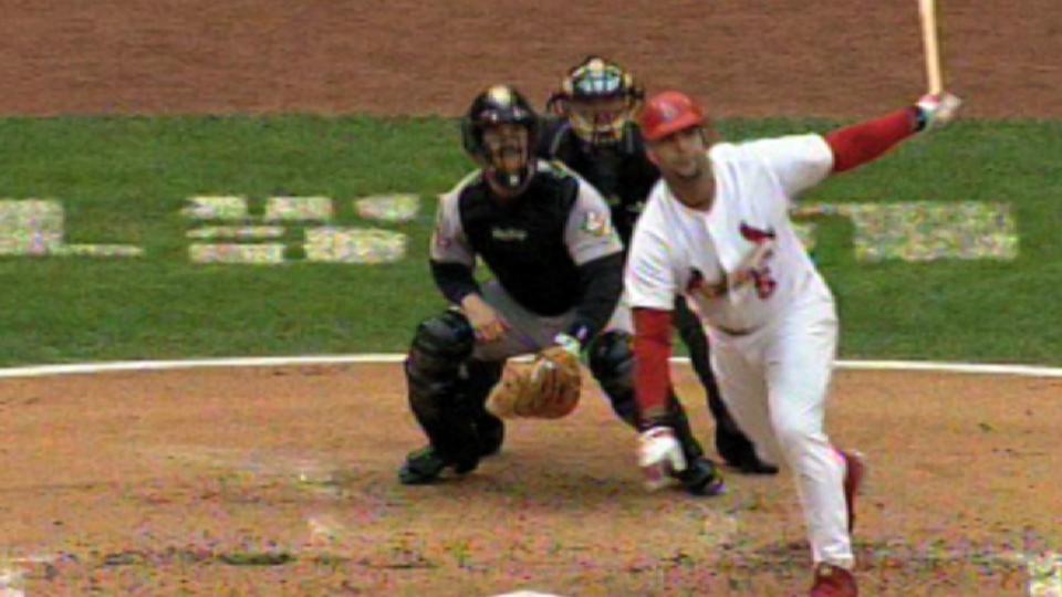 Pujols' two-run shot in Game 6