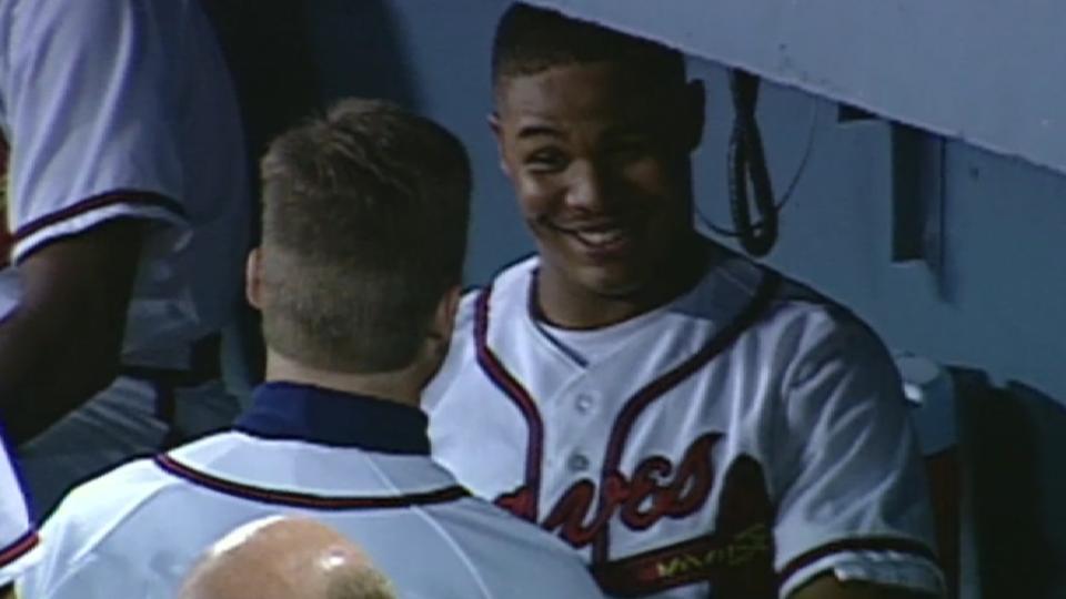 A. Jones' historic two-run homer