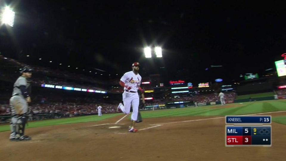 Martinez's two-run home run