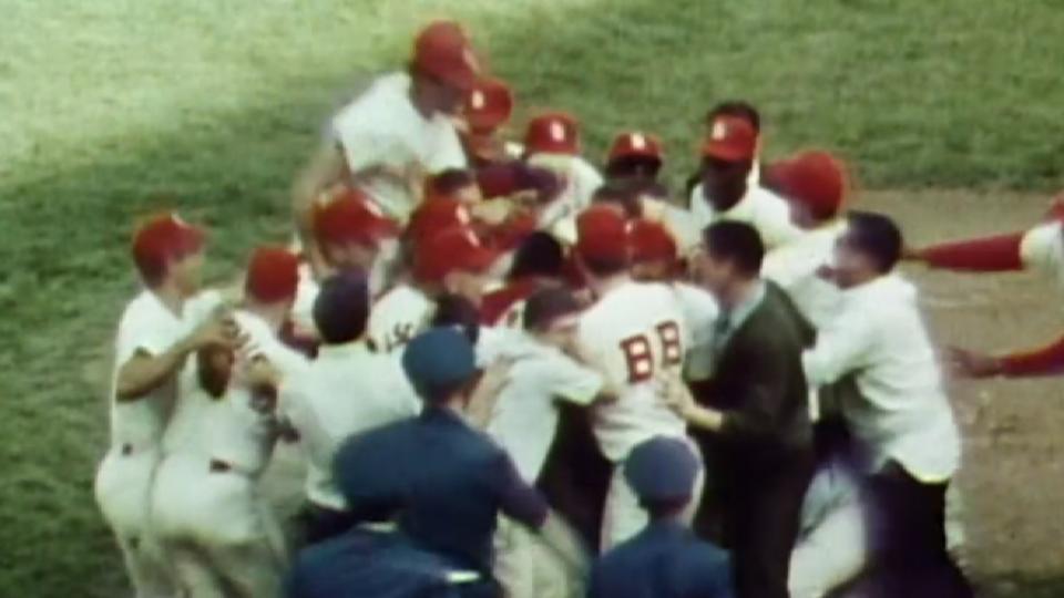 Cardinals win 1964 World Series