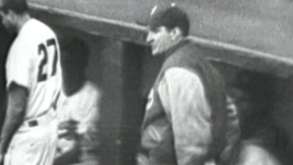 Branca ejected from the dugout