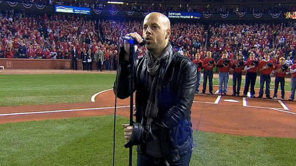 Daughtry sings national anthem