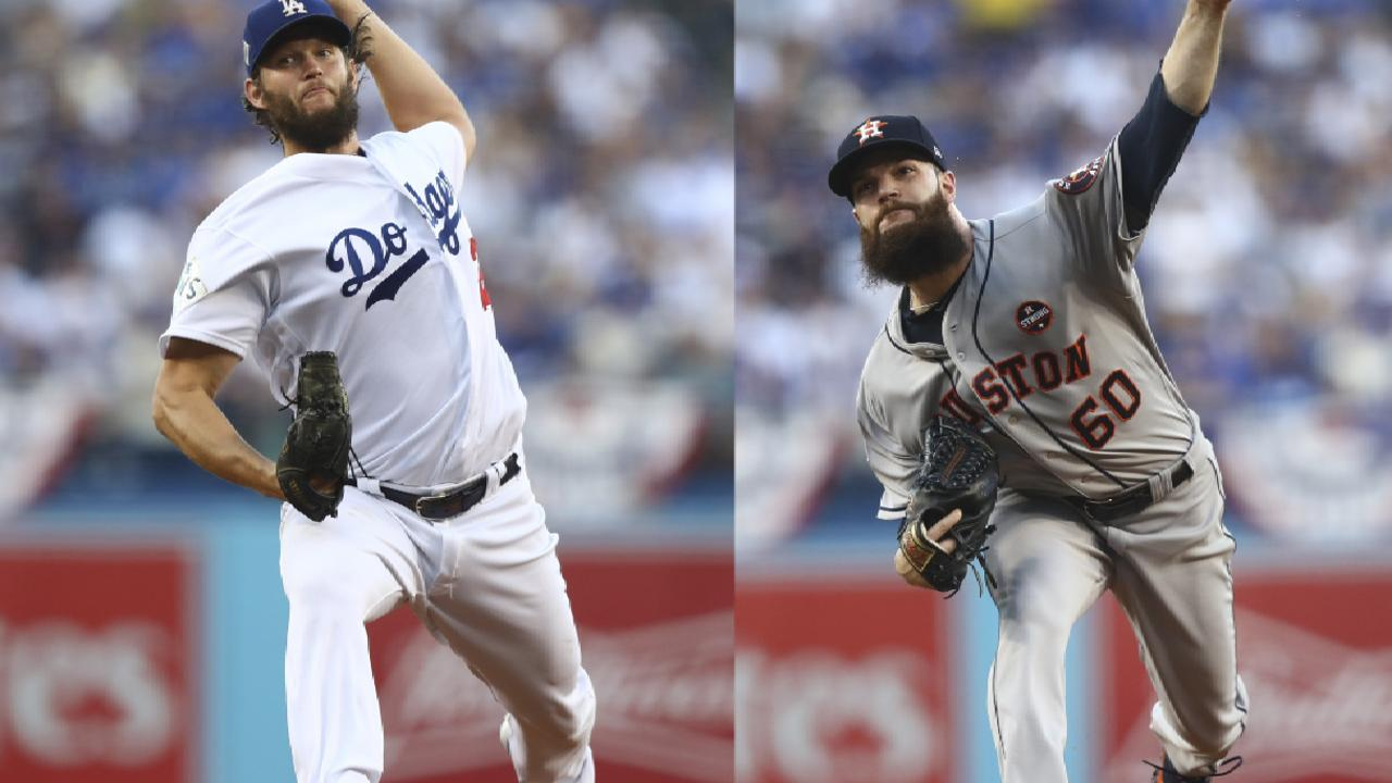 Dodgers Astros Set For Game 5 Of World Series