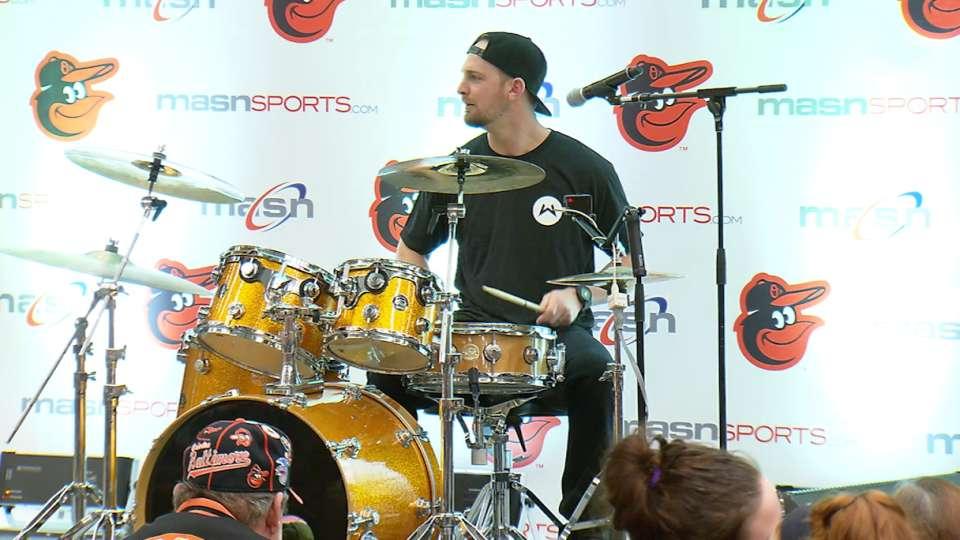 Drumming with Caleb Joseph