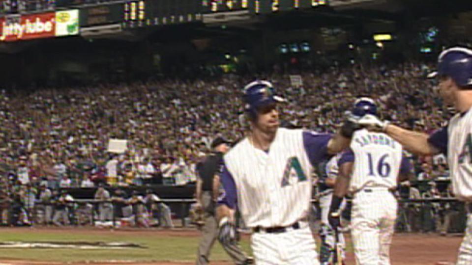 Gonzalez hits a two-run homer