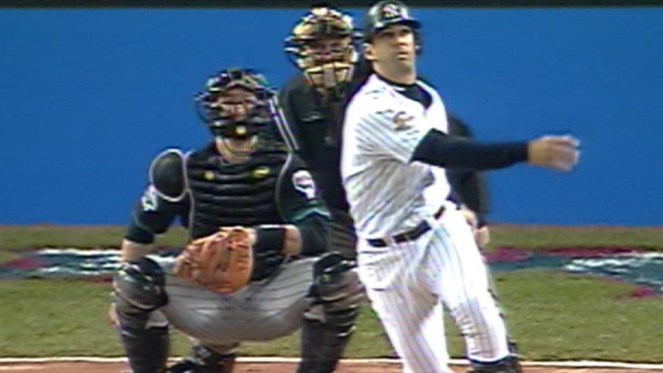 Posada's solo home run