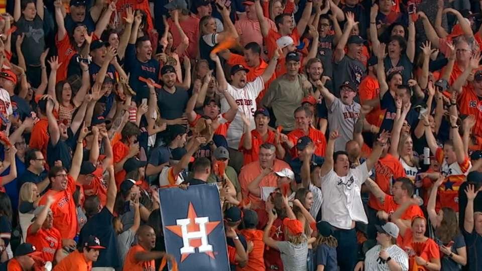 Astros on playing at home
