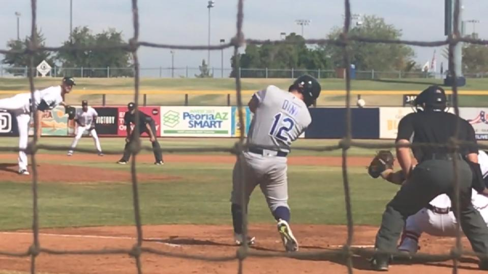 Nick Dini gets two hits