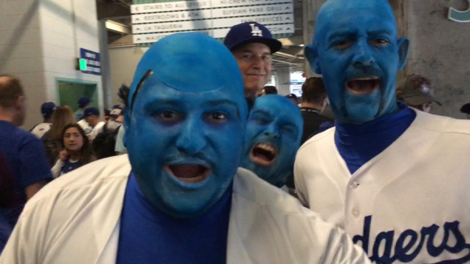 Fans dress up for Game 6