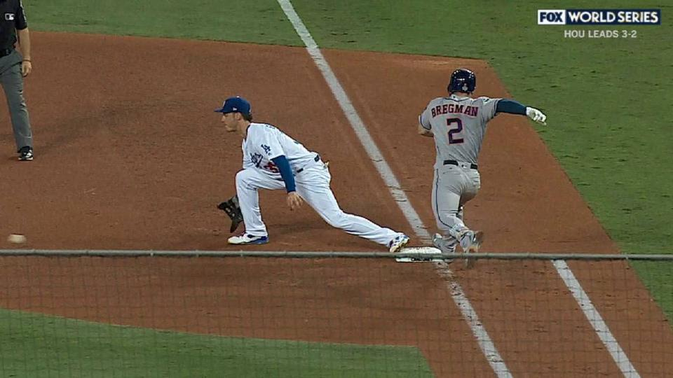 Seager recovers to get the out