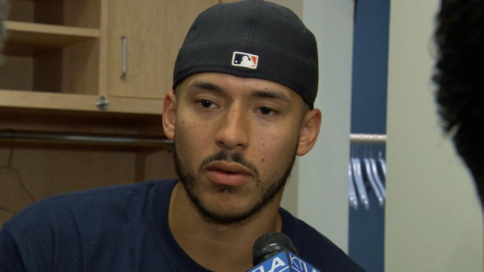 Correa on Game 6 loss to Dodgers