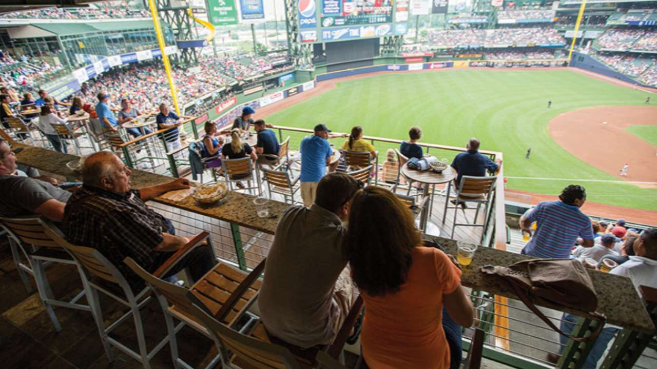 Miller Park Seating Chart Dew Deck Brewers All Inclusive