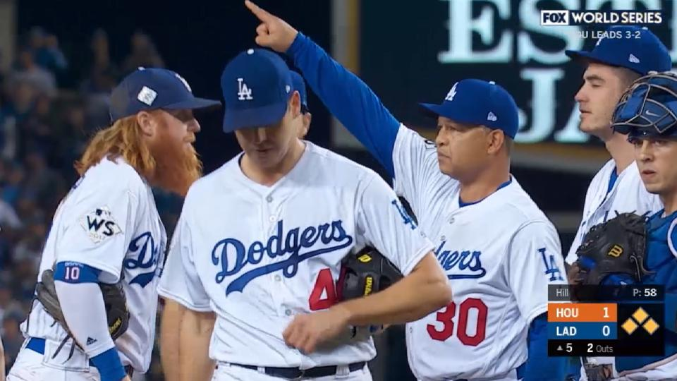 MLB Tonight: Hill's early exit