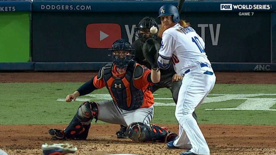 Turner's second hit-by-pitch