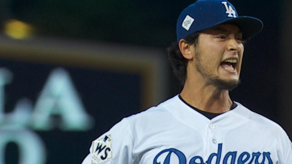 Darvish exits in the 2nd
