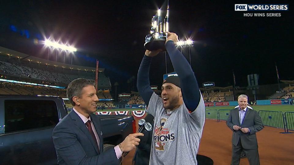 Springer earns MVP honors