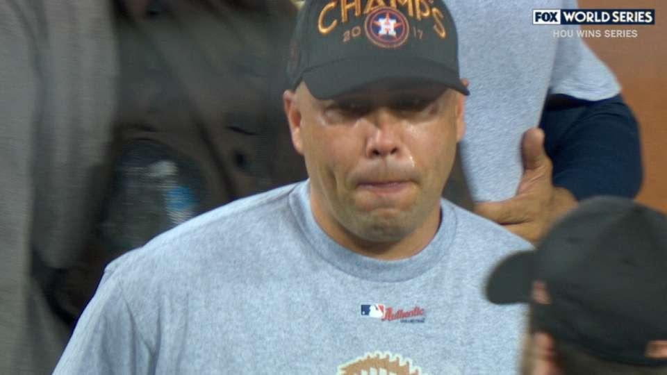 Astros' World Series celebration