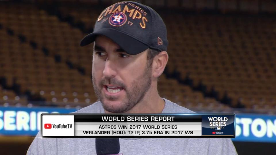Verlander reacts to title