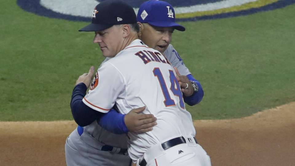 Hinch on Roberts and Dodgers