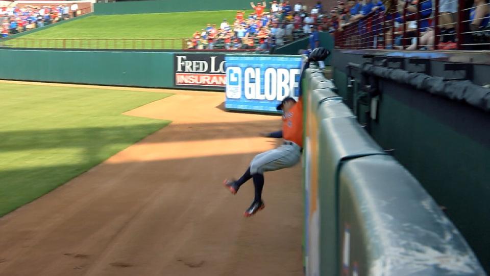 Springer's game-saving catch