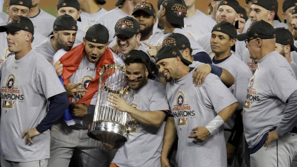 Astros' top moments of 2017