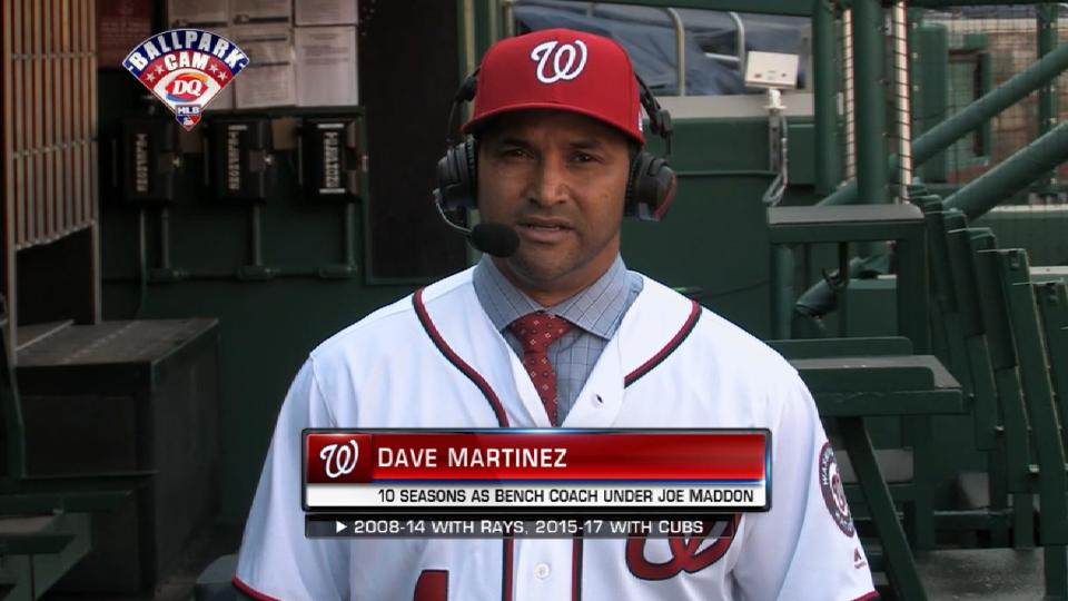Martinez learned from Maddon