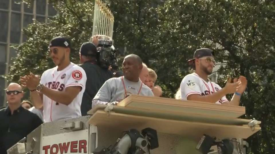 Scenes from WS parade in Houston