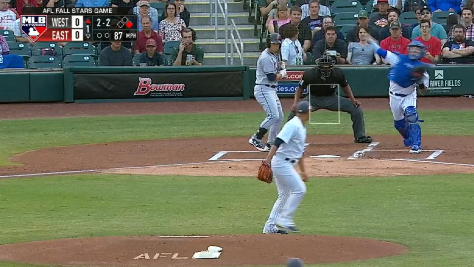 Nido nabs Acuna at second base