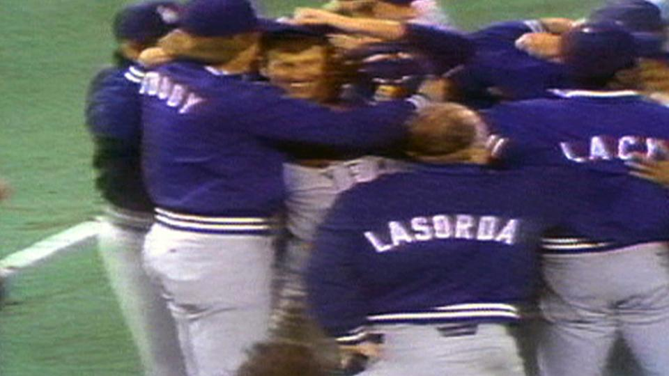 Dodgers win '77 NLCS