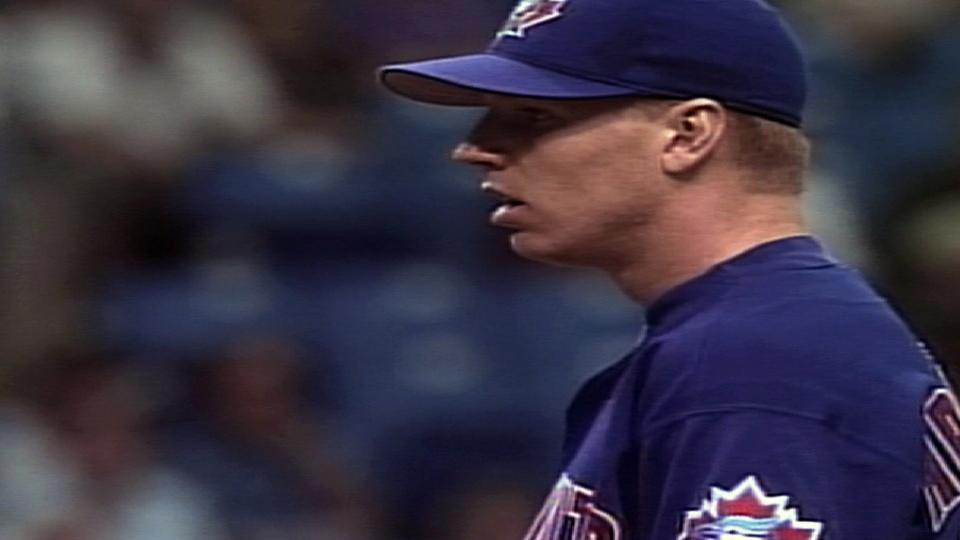 Halladay's first MLB strikeout