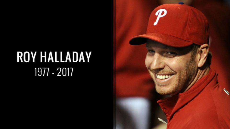 Phillies remember Roy Halladay