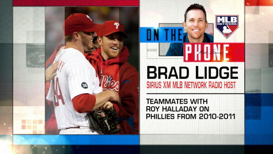 Lidge remembers Halladay