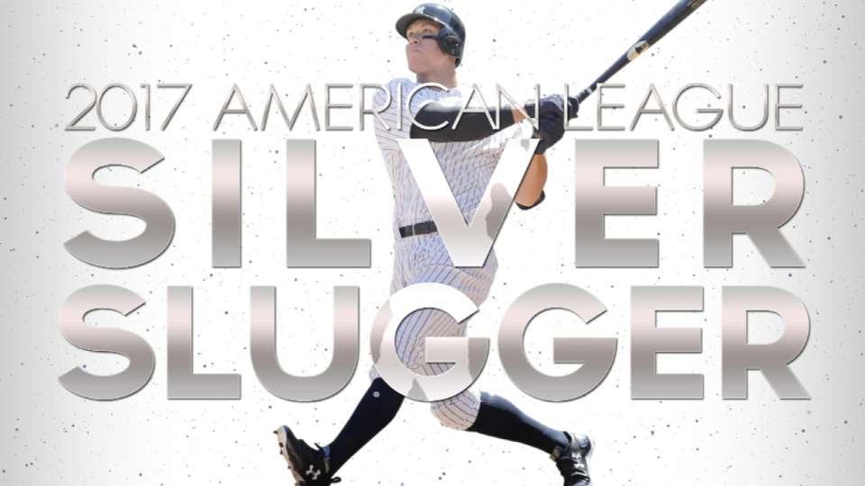 2017 Silver Slugger: Aaron Judge